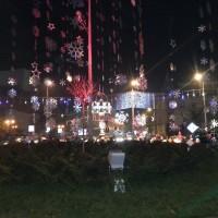 Коледна украса в Букурещ